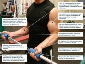 thick grip training for grip strength